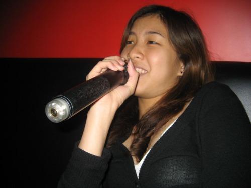 KC singing