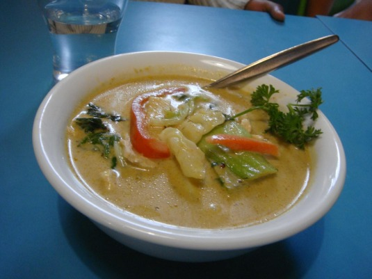 Moses & Kent's Green Curry