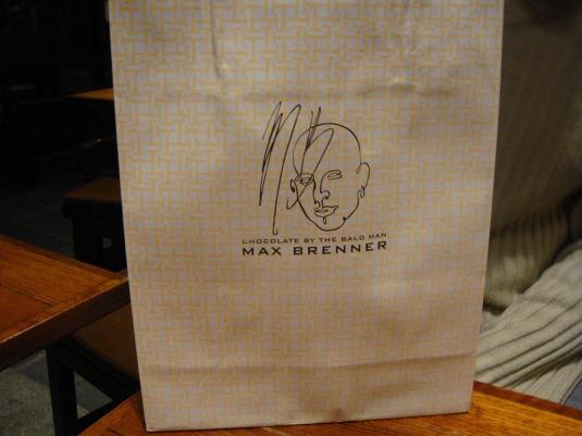 Max Brenner paper bag